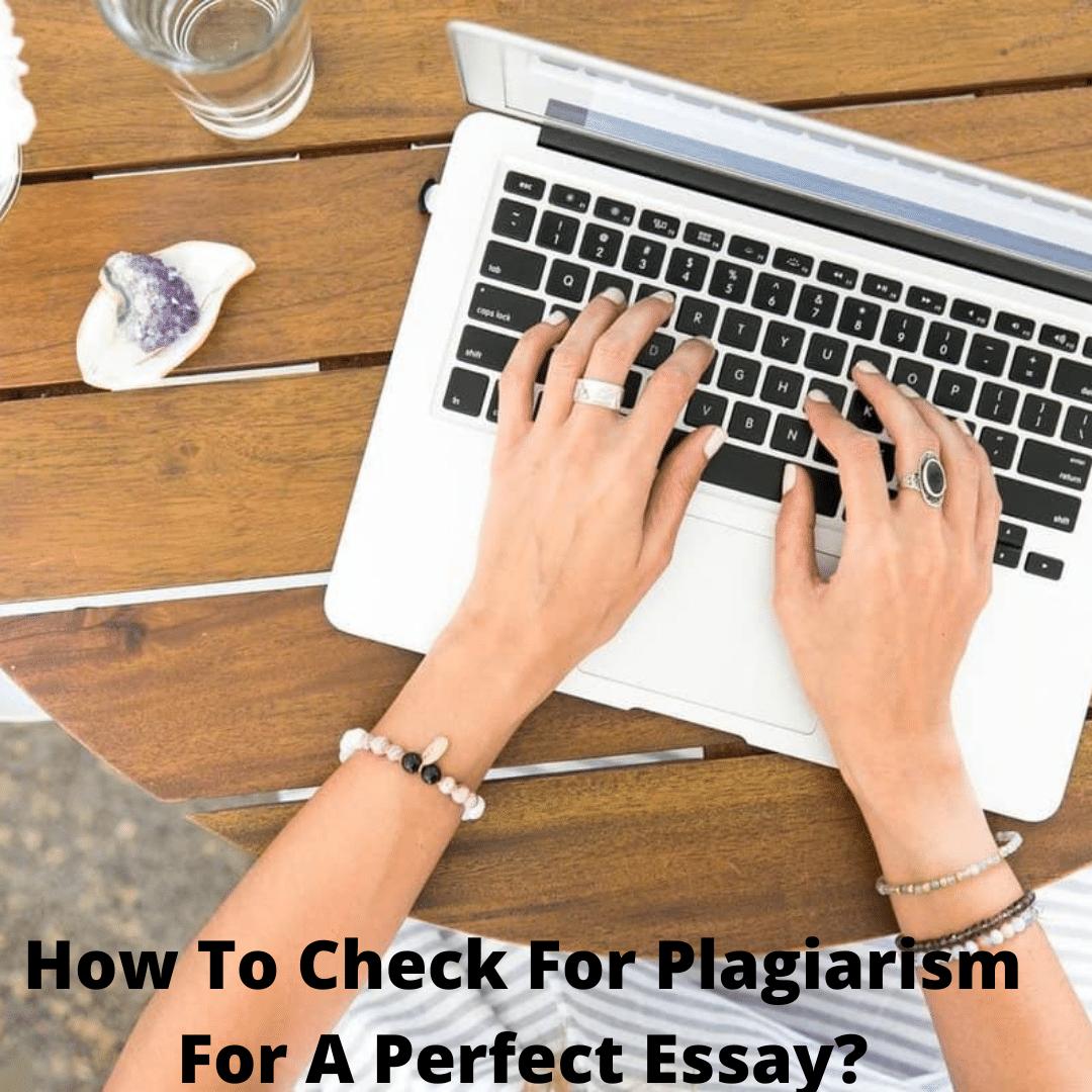 check essay Plagiarism