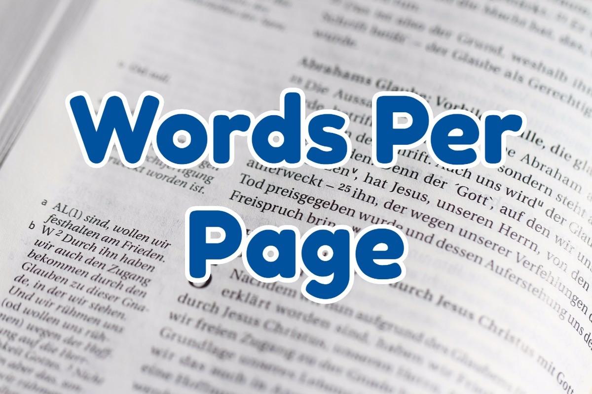 words-per-page